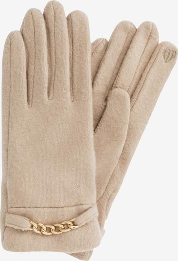 HALLHUBER Fingerhandschuhe in beige, Produktansicht