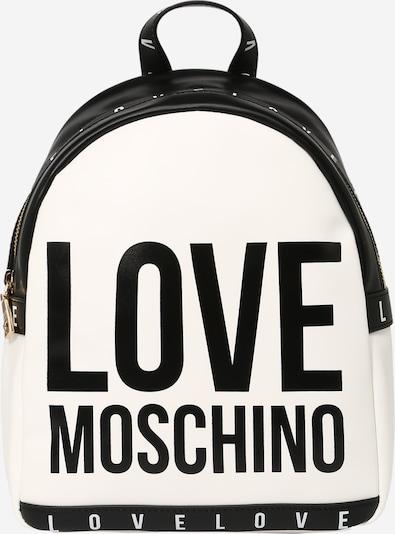 Love Moschino Σακίδιο πλάτης σε μαύρο / λευκό, Άποψη προϊόντος
