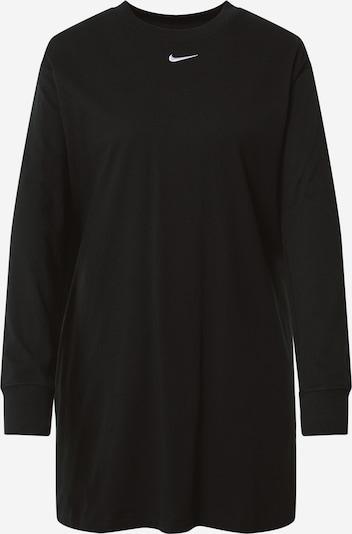 Nike Sportswear Vestido en negro / blanco, Vista del producto
