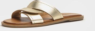 INUOVO Pantoletten in gold, Produktansicht