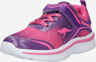KangaROOS Sneaker in aubergine / pink, Produktansicht