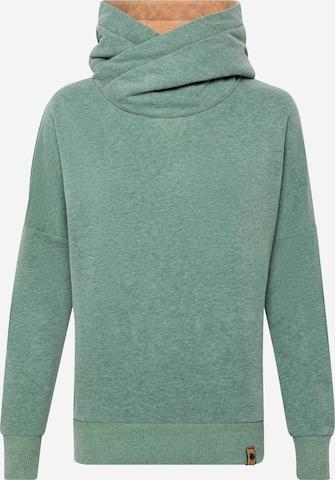 Sweat-shirt 'The Dancebreakerin' Fli Papigu en vert