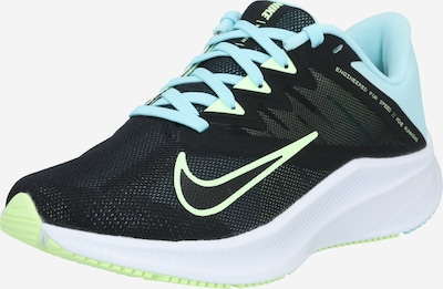 NIKE Running shoe 'Quest 3' in light blue / black / white, Item view