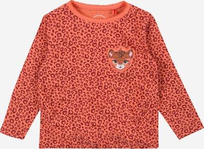 s.Oliver Shirt in de kleur Antraciet / Watermeloen rood / Wit, Productweergave