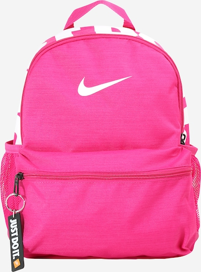Nike Sportswear Backpack 'Brasilia' in Pink / White, Item view