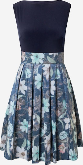 SWING Cocktailklänning i marinblå / turkos / duvblå / mörkgrå / ljusrosa, Produktvy
