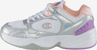 Champion Authentic Athletic Apparel Sneaker in türkis / silbergrau / violettblau / koralle / weiß, Produktansicht