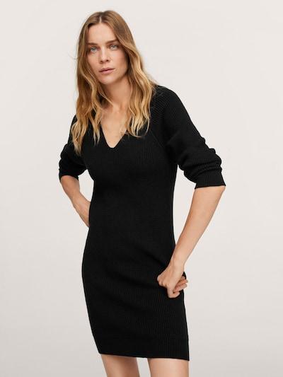 MANGO Kleid 'KORINA' in schwarz, Modelansicht