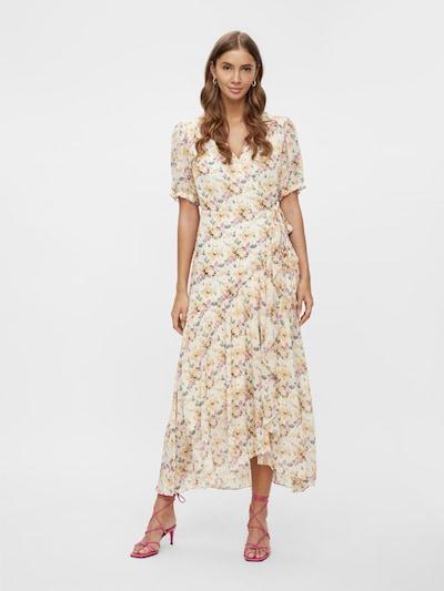 Y.A.S Kleid in gelb / pink / offwhite, Modelansicht