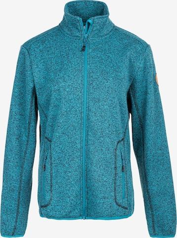 Whistler Athletic Fleece Jacket 'SAMANI W' in Blue
