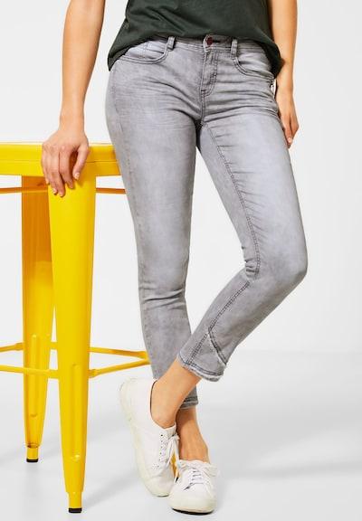 STREET ONE Jeans in grau, Modelansicht