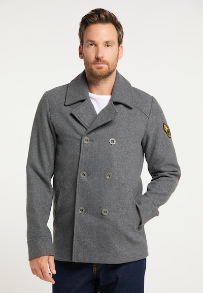 DreiMaster Maritim Between-seasons coat in basalt grey, View model