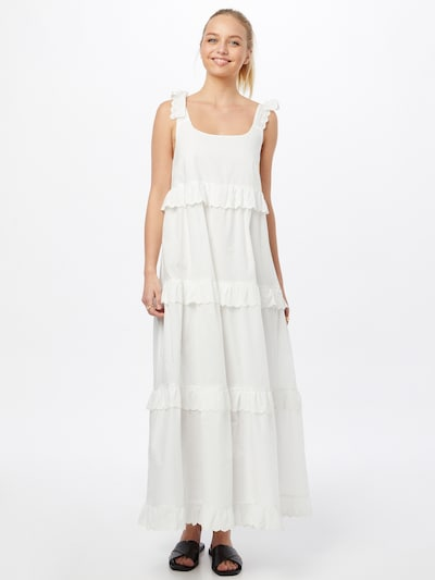 VILA Letní šaty 'GABRIELLA' - bílá, Model/ka