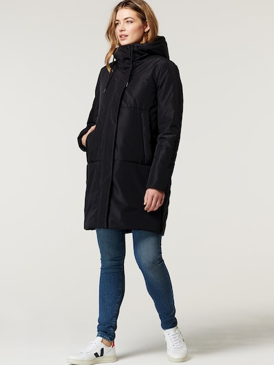 Noppies Winter Coat 'Gridley' in Black, View model