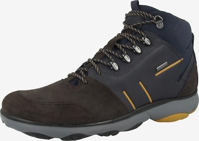 GEOX Boots in dunkelbraun / dunkelorange, Produktansicht