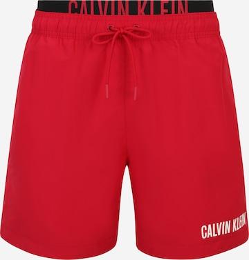 Calvin Klein Swimwear Badeshorts in Rot