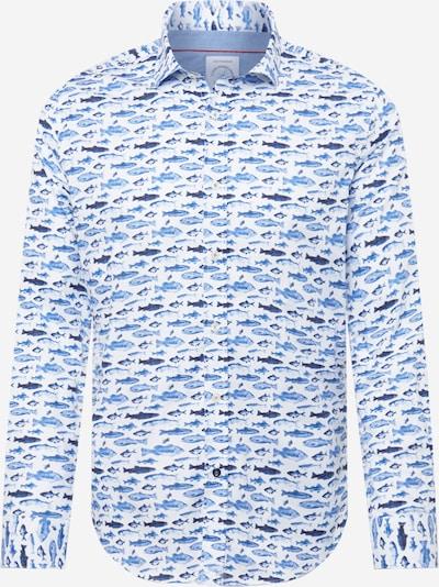 A Fish named Fred Camisa en navy / azul oscuro / azul real / azul claro, Vista del producto