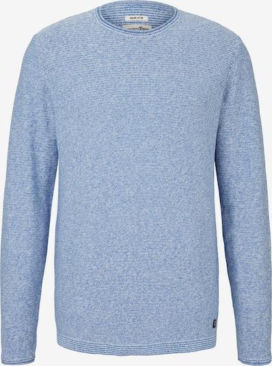 TOM TAILOR DENIM Trui in de kleur Hemelsblauw / Wit, Productweergave