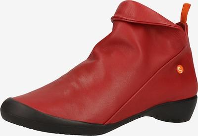 Softinos Bottines en rouge, Vue avec produit