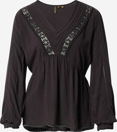 Superdry Bluse 'Jenny' in schwarz, Produktansicht