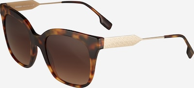BURBERRY Sonnenbrille 'EVELYN' in braun / gold, Produktansicht