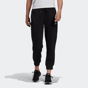 Pantaloni sportivi 'Essentials' di ADIDAS PERFORMANCE in nero