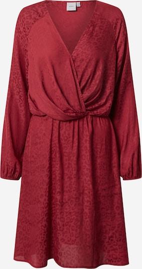 ICHI Kleid in blutrot, Produktansicht