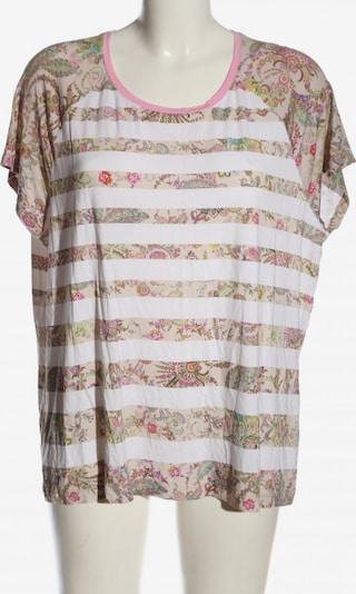 Basler T-Shirt in XXXL in pink / weiß / wollweiß, Produktansicht