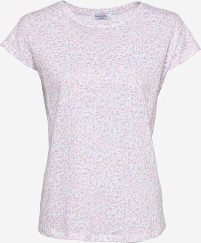 Sublevel T-Shirt in helllila / pink / weiß, Produktansicht