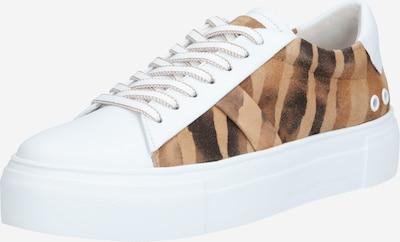 Kennel & Schmenger Sneakers laag 'Big' in de kleur Bruin / Lichtbruin / Wit, Productweergave