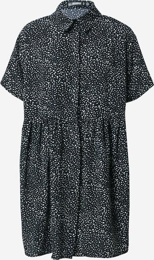 Missguided Robe-chemise en noir / blanc, Vue avec produit