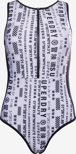 Superdry Sportbadpak in de kleur Zwart / Wit, Productweergave