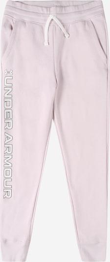 UNDER ARMOUR Sporthose 'Rival' in rosa / schwarz / weiß, Produktansicht