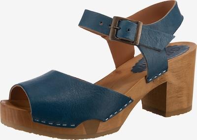 Grünbein Sandaletten in blau, Produktansicht