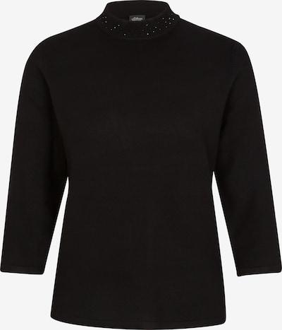 s.Oliver BLACK LABEL Trui in de kleur Zwart, Productweergave