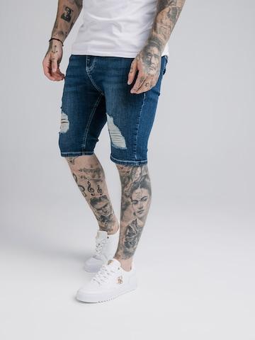 SikSilk Jeans in Blue
