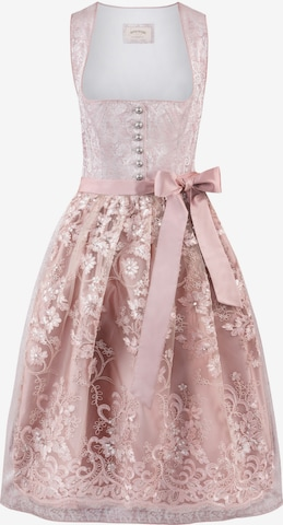 STOCKERPOINT Dirndl 'Sidonia' in Pink