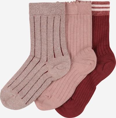 mp Denmark Socken 'ABBY' in rosa / rot / weiß, Produktansicht