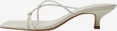 MANGO Pantolette 'similar' in weiß, Produktansicht