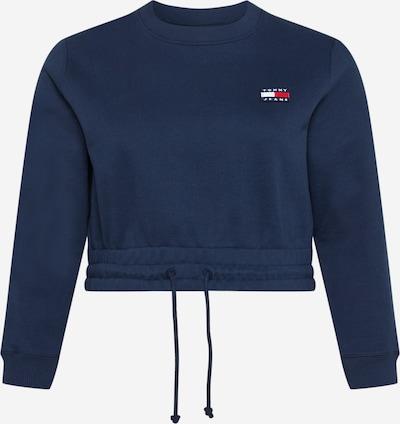 Tommy Jeans Curve Sweat-shirt en bleu marine, Vue avec produit