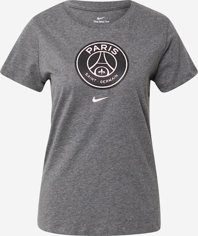 NIKE Koszulka funkcyjna 'Paris Saint-Germain' w kolorze nakrapiany szary / czarny / białym, Podgląd produktu