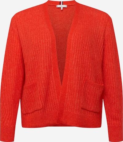 TOMMY HILFIGER Strickjacke in rot, Produktansicht