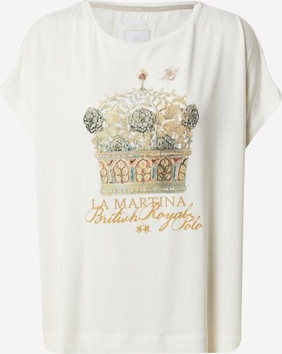 La Martina Camiseta en oro / gris / rosé / blanco, Vista del producto