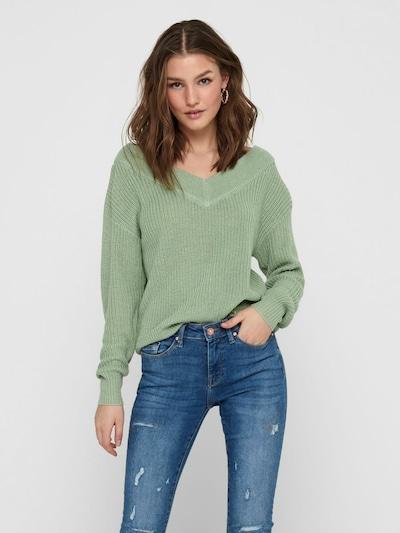 ONLY Pullover 'MELTON' i æble, Modelvisning