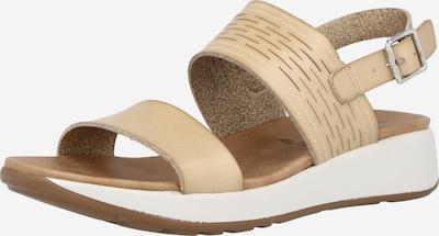 Xti Sandale in beige, Produktansicht