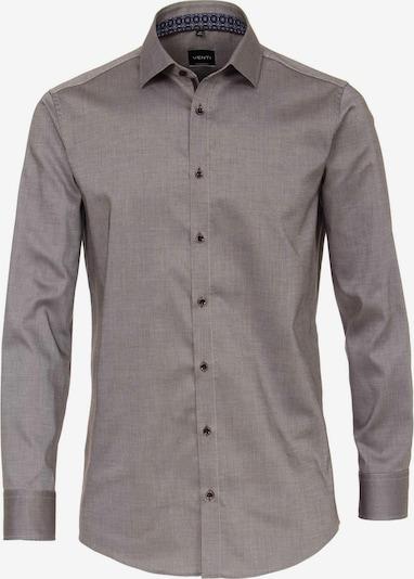 Venti Langarm Business Hemd in braun, Produktansicht