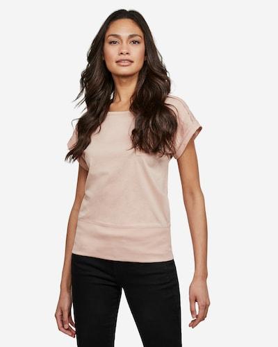 G-Star RAW Shirt 'Noxer' in de kleur Lichtroze: Vooraanzicht