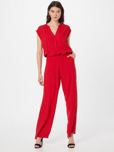 s.Oliver Jumpsuit in de kleur Vuurrood, Modelweergave