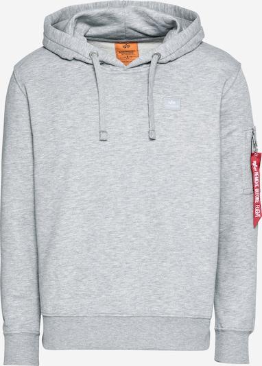 ALPHA INDUSTRIES Sweatshirt 'X-Fit' in grau, Produktansicht