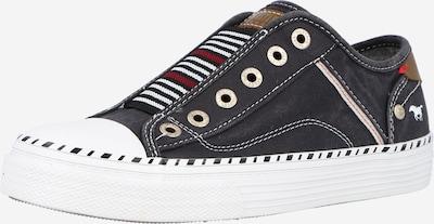 MUSTANG Slip on boty - hnědá / červená / černá / bílá, Produkt